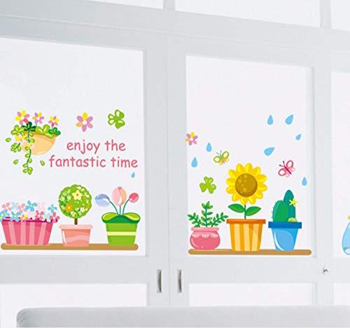 Helpful Tropical Flower Leaves Removable Wall Art Border Sticker Decal Kid Nursery Decor Always Buy Good Wall Décor Baby