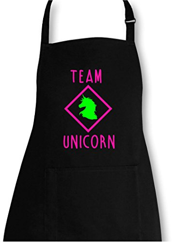 EZYshirt® Team Unicorn Grillschürze (Ein Team Kostüme)
