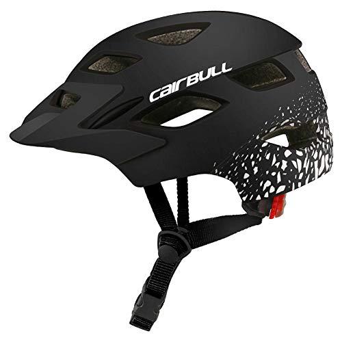 geruite Kids Cycle Safety Helm mit Rücklicht für Roller Scooter Skateboard Fahrrad
