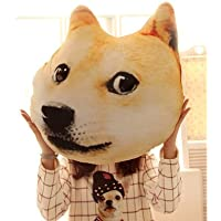 JinRou Moda casual cuscino animale 3D serie Doge e cani Husky Materiale felpato 35x40cm , 3#