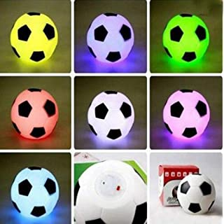 Bluelover Color Changing LED Football Light Mood Night Lamp Party Decoration New