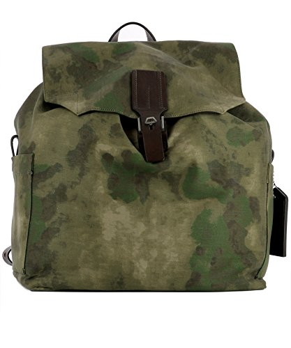 Golden-Goose-Mens-G31MA753A5-Green-Fabric-Backpack