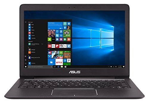 ASUS ZenBook UX330UA-FC300T 13.3-inch Full HD Display Laptop (Black) - (Intel i7-7500U Processor, 8GB RAM, 256GB SSD, Harman Kardon Speakers, Windows 10)