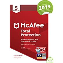 McAfee Total Protection 5 dispositivi