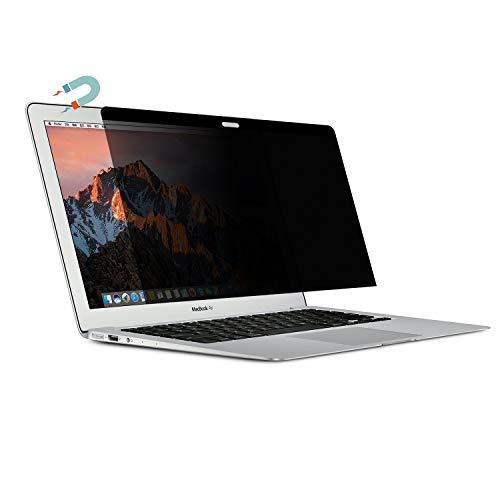 Magnetic Filter Blickschutzfilter - Antispy Sichtschutz-Folie Bildschirm Schutz - Magnetisch - Wiederverwendbar für MacBook Pro 15 Zoll 2016/2017/2018 Ausführung: A1707 Modell