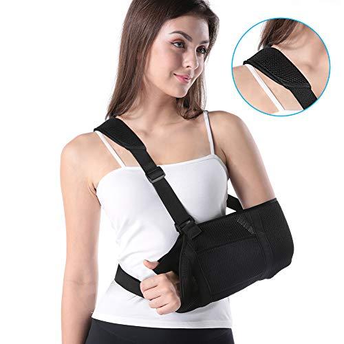 Armschlinge Doact Schulterschlinge zum Arms für Schulter-Rotator-Manschetten-Stützklammer, Luxation, Verstauchungen und Dehnungen, Schulter und Handgelenk Verletzungen oder Frakturen -