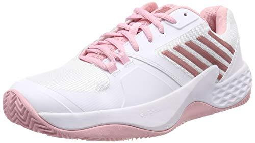ada51b2be2 K-Swiss Performance Damen Aero Court HB Tennisschuhe, Weiß (White/Coral  Blush