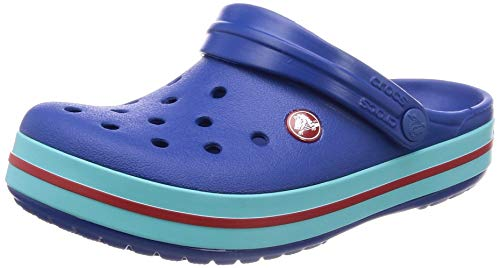 crocs Unisex-Erwachsene Crocband U Clogs, Blau (Blue Jean/Pool 4io), 41/42 EU