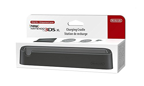 Nintendo - Base De Carga Para New Nintendo 3DS XL, Color Negro (3DS XL)