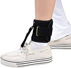 Bold Pharma Ankle Joint Foot Drop Orthoses Stroke Hemiplegia Rehabilitation Supplies 4X4 Black