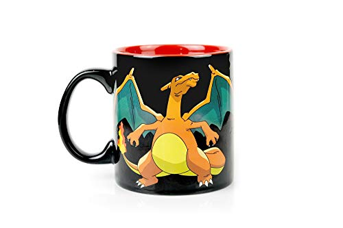 JustFunky Pokemon Glumanda Evolution Wärme ändern Kaffee Tasse