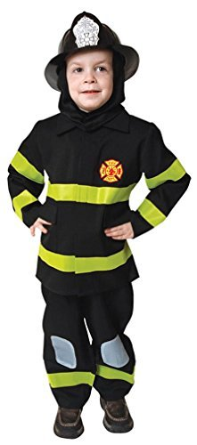 Fire Fighter No Hat Md 8 To 10 Costume Item by Morris (Hat Fighter Fire)