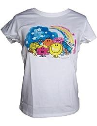 Tee-shirt femme Monsieur Madame - S - Blanc