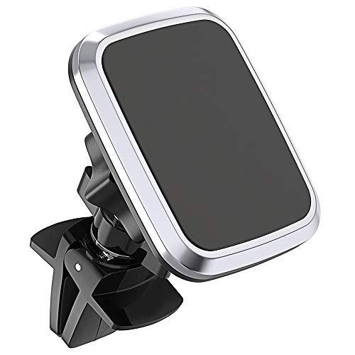 Bovon Handyhalterung Auto Magnet Lüftung KFZ Halterung, 360° Rotation, Verstellbarer Handyhalter fürs Auto Universell für alle Smartphones oder GPS-Geräte (Schwarz)