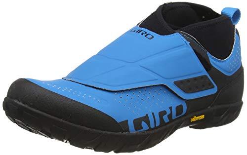 Giro Herren Terraduro Mid MTB Radsportschuhe - Mountainbike, Mehrfarbig (Blue Jewel 000), 44.5 EU