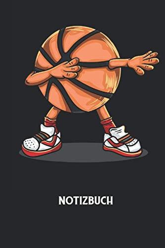 Notizbuch: Dapping, Basketball, Sport Notizbuch: Kariert I Journal I Tagebuch I Arbeitsbuch I 6x9 Zoll (ca. DIN A5) I 120 Seiten