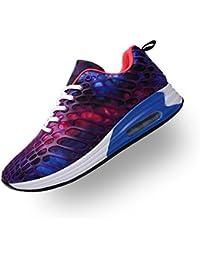 Unisex Uomo Donna Scarpe da Ginnastica Scarpe da Corsa Sportive Fitness  Running Sneakers Basse Scarpe da 39611144b22