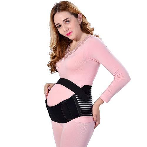 BOZEVON Schwangerschaft Bauchband Stützgürtel - Mutterschaft Gürtel für Unterstützung Maternity Bauchband Schwangerschaft Becken Unterstützung Gürtel Abdomen Band -