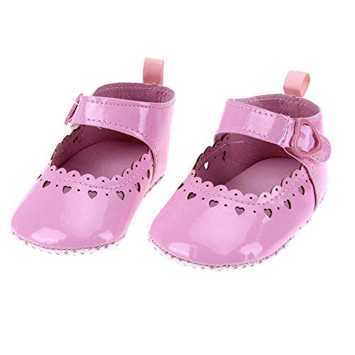 La Cabina Sandales Bébé Fille garçon - Chaussures Bébé Fille garçon -Chaussure Bébé Fille Garçon Premier Pas -Chaussures Souples Confortable - Chaussures Antiglisse pour été Printemps (6-12 mois, kaki rose