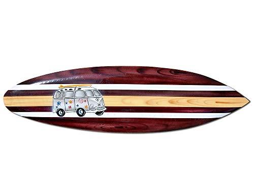 Seestern Sportswear Deko Holz Surfboard 50 cm lang Airbrush Design Surfing Surfen Wellenreiten Surf /FBA_1658