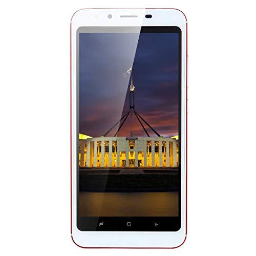 "Preisvergleich Produktbild 5.0""Ultradünne Android6.0 Octa-Core 512 MB + 4 GB GSM 3G WiFi Dual-SIM-Dual-Kamera Smart Handy (rot)"