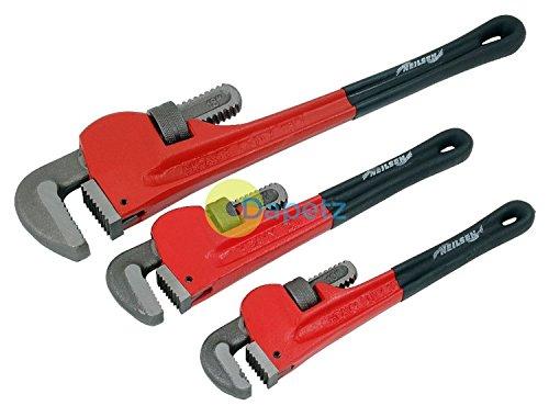 Dapetz 3 teilig Verstellbar Stilson Rohrzange Tool-Set Affe Klempner Zange