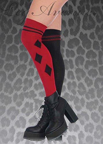 Stil über die Kniestrümpfe (Harley Quinn Strumpf)