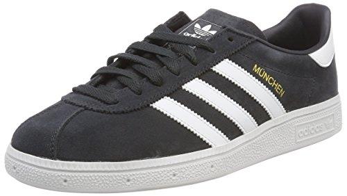 adidas Herren Munchen CQ2322 Fitnessschuhe, Grau (Carbon/Ftwbla/Dormet 000), 45 1/3 EU (Boxen Kunststoff Schuh)