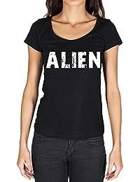 Alien, tshirt femme, t shirt cadeau, t-shirt avec mots