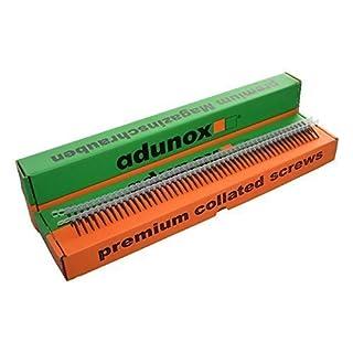 adunox Gurtmagazinschrauben / Magazinschrauben 3,9 x 35 mm mit Grobgewinde 3VE (3000St)