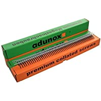 adunox Gurtmagazinschrauben / Magazinschrauben 3,9 x 35 mm mit Grobgewinde 1VE (1000St)