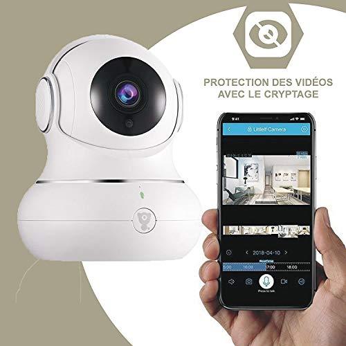 Littlelf Dome Überwachungskamera Indoor Camera babyphone 1080P F...