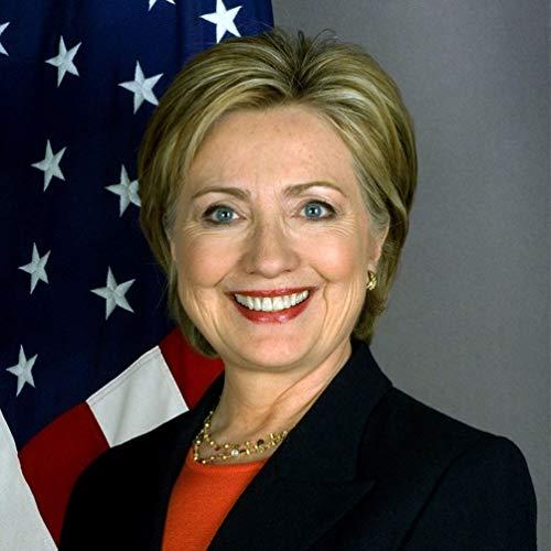 Hillary Clinton Perücke Kurze Gerade Blonde Bob Perücke Erwachsene Haarschmuck Politische Kandidatin Keine Spitze Natürliche Layered Synthetische Volle Haarteil für Kostümfest Kostüm Cosplay