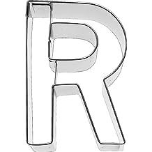 RBV Birkmann Birkmann 1010712210 Galletas Forma Letra R, 6 cm, plástico, Gris,