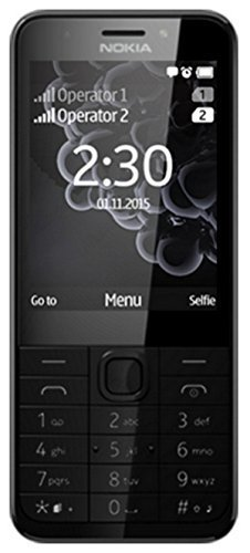 microsoft 230 dual sim 2.8 91.8g black,silver feature phone - mobile phones (7.11 cm (2.8), 320 x 240 pixels, lcd, 65536 colours, microsd (transflash), 32 gb)