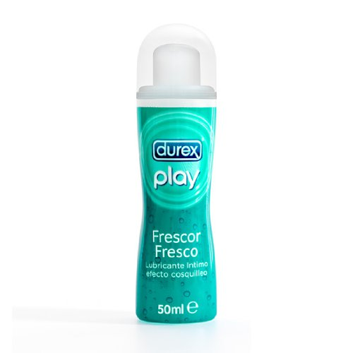 DUREX PLAY EFFECT frescor HIDROSOLUBLE VERTRAUTE SCHMIERSTOFF 50 ML
