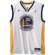 Stephen Curry Golden State Warriors Réplica de la camiseta, color blanco