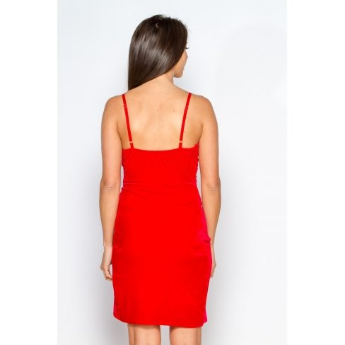 Princesse boutique - Robe ROUGE en velours Rouge