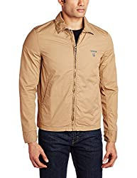 Lee Mens Cotton Jacket (8907222307271_LEJK1158_Large_Khaki)