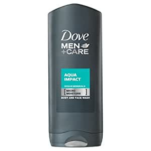 Dove for Men Aqua Impact Body and Face Wash - 400 ml