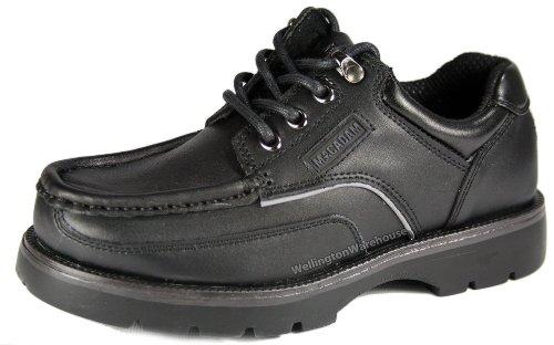 MACADAM , Chaussures de ville à lacets pour garçon Noir noir Noir - noir