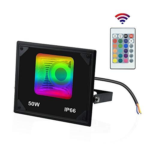 Luxvista 50W Foco Reflector RGB LED