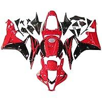 FairingkitNo1 Red Black Fairing Kit Fit for Honda 2007 2008 CBR600RR F5 Injection Mold Bodywork Plastic