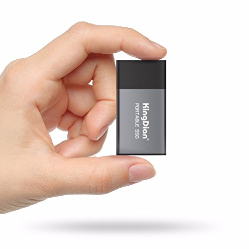 KINGDIAN 120GB Portable External SSD (Upto Read - 340 - 320 MB/s)