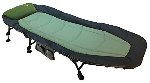 Zfish Classic Bedchair Organiser Free Karpfenliege, Grün/Schwarz, XL
