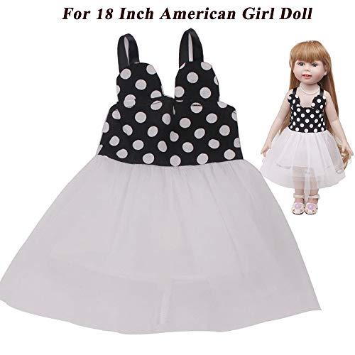 lustiges Spielzeug, ALIKEEY Sommer Kleidung Rock für 18 Zoll American Girl Puppe Zubehör Mädchen Spielzeug