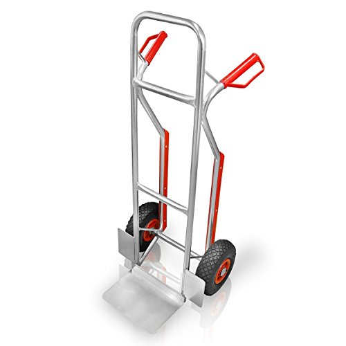 Aluminium Sackkarre mit Treppenrutsche 150 kg Stapelkarre Transportkarre