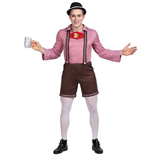 EraSpooky Herren deutsches Oktoberfest (Nicht Kostüm Männer Alle Halloween)