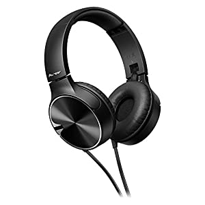 Pioneer SE-MJ722T-K Headphone with Microphone - Black