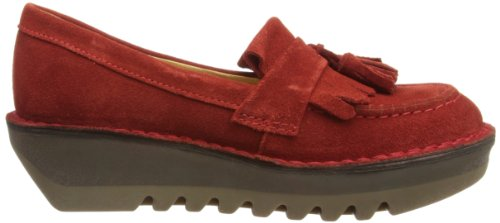 Fly London Juno, Mocassins Femme Rosso (Red)
